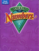 Working With Numbers Level E