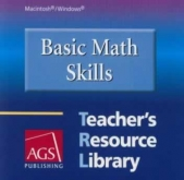 Basic Math Skills Teacher's Resource Library CD-ROM