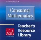 Consumer Mathematics Teacher's Resource Library CD-ROM
