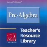 Pre-Algebra Teacher's Resource Library CD-ROM