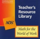 Math For The World of Work Teacher's Resource Library CD-ROM