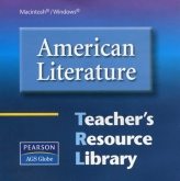 AGS American Literature Teacher's Resource Library CD-ROM