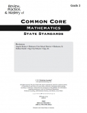 Mastery of Common Core State Standards Math Grade 3