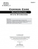 Mastery of Common Core State Standards Math Grade 4