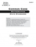 Mastery of Common Core State Standards Math Grade 6