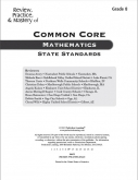 Mastery of Common Core State Standards Math Grade 8