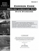 Mastery of Common Core State Standards ELA Grade 3