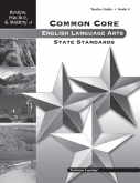 Mastery of Common Core State Standards ELA Grade 4 Guide
