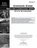 Mastery of Common Core State Standards ELA Grade 7
