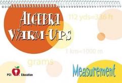 Algebra Warm-Ups Measurement