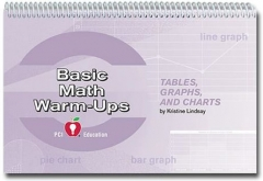 Tables, Graphs, and Charts Warm-Ups