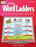 Daily Word Ladders for Interactive Whiteboards Grades K-1