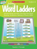 Daily Word Ladders for Interactive Whiteboards Grades 4-6