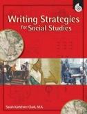 Writing Strategies for Social Studies