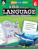 180 Days of Language Grade 6