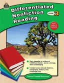 Differentiated Nonfiction Reading Gr 3