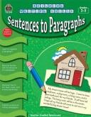 Sentences to Paragraphs Grades 2-3