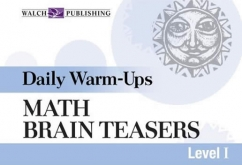 Daily Warm-Ups: Math: Brain Teasers