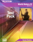 Power Basics World History III Test pack