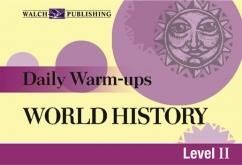 Daily Warm-Ups: World History (Grades 9-12)