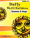Daily Skill Builders - Grammar and Usage (Grades 3-4)