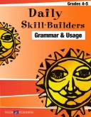 Daily Skill Builders - Grammar and Usage (Grades 4-5)