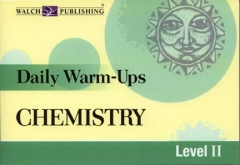 Daily Warm-Ups: Chemistry (Grades Gr 7–Adult)